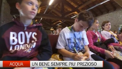Anche Bergamo celebra la Giornata mondiale dell'acqua