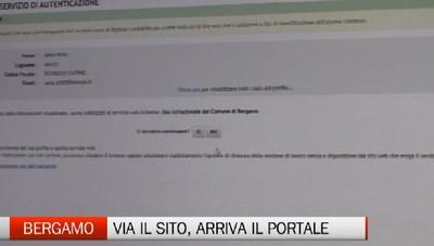 Bergamo ha il nuovo sito. Sarà un super portale con tutti i servizi