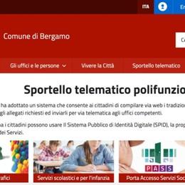 Nuovo portale del Comune di Bergamo Almeno 500 servizi on line per i cittadini