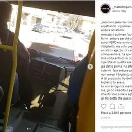 Albino: «Insultato sul bus perché nero» La Sab: avviata un'indagine interna