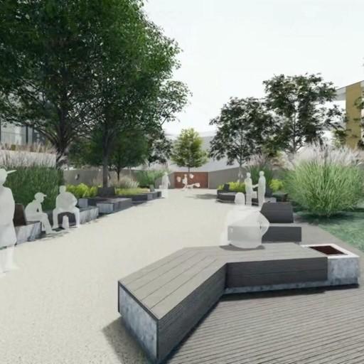 All'ex Cesalpinia un nuovo parco   Sarà il nuovo centro verde della città