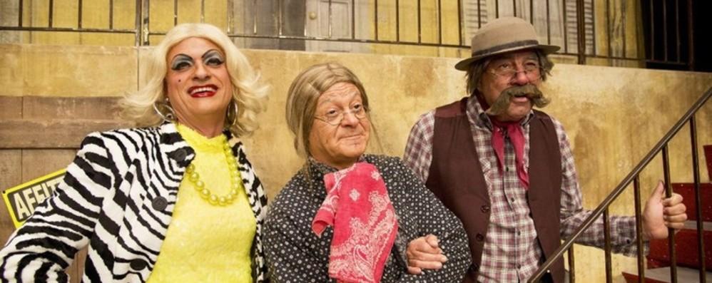 Settant'anni di risate I Legnanesi al Teatro Creberg