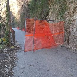 Intrusioni e atti vandalici sulla ciclabile Valle Brembana, appello della Provincia