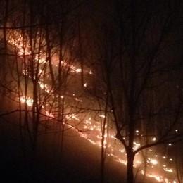 Vento forte, allarme incendi boschivi Codice rosso su Bergamo e provincia