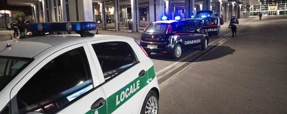 Degrado e spaccio a Bergamo Autosilo stazione sgomberato e ripulito