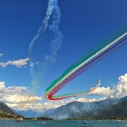 Le Frecce Tricolori tornano a Lovere Il passaggio l'8 settembre - Video