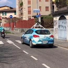 A Bergamo torna la Google car Nuova mappatura 3d per la città