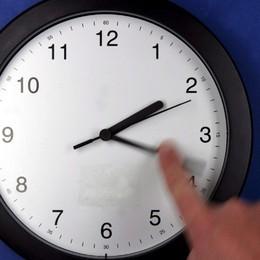 Mano all'orologio questo fine settimana Con l'ora legale, lancette avanti