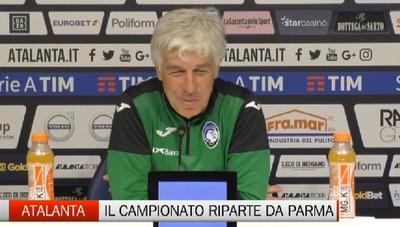 Atalanta: il campionato riparte da Parma