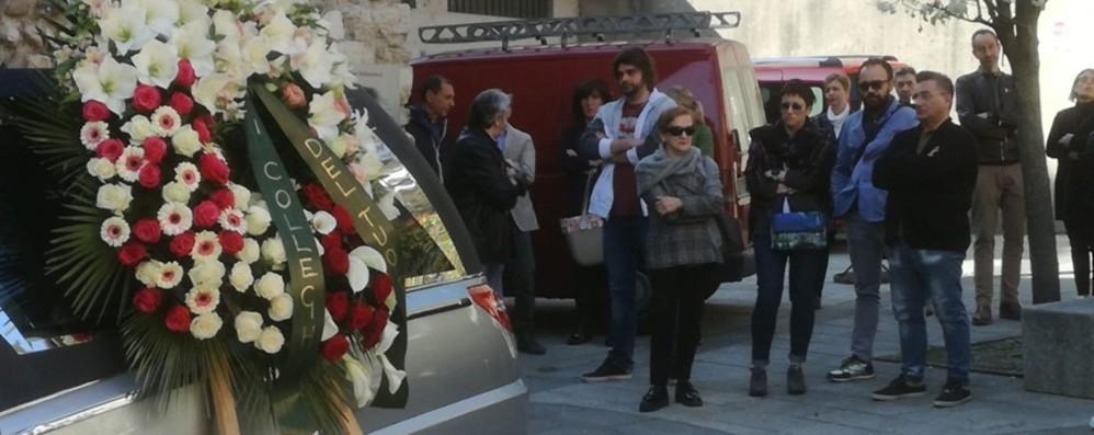 Un lungo corteo e il dolore dei colleghi La Val Seriana piange Monica - Foto