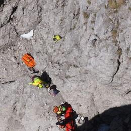 20enne di Martinengo cade in montagna Super lavoro del Soccorso alpino