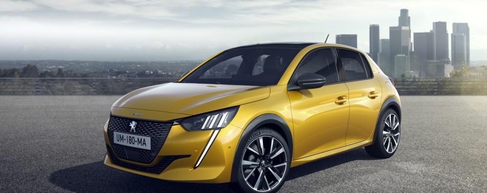 Nuova Peugeot 208  anche elettrica