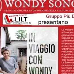 Bergamo, «In viaggio con Wondy» Una mostra sul coraggio della malattia
