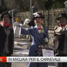 Successo per il Carnevale di Clusone C'era anche Mary Poppins da Onore