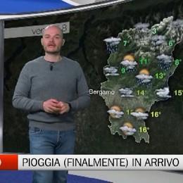 Pioggia (finalmente) in arrivo  Le previsioni di 3BMeteo