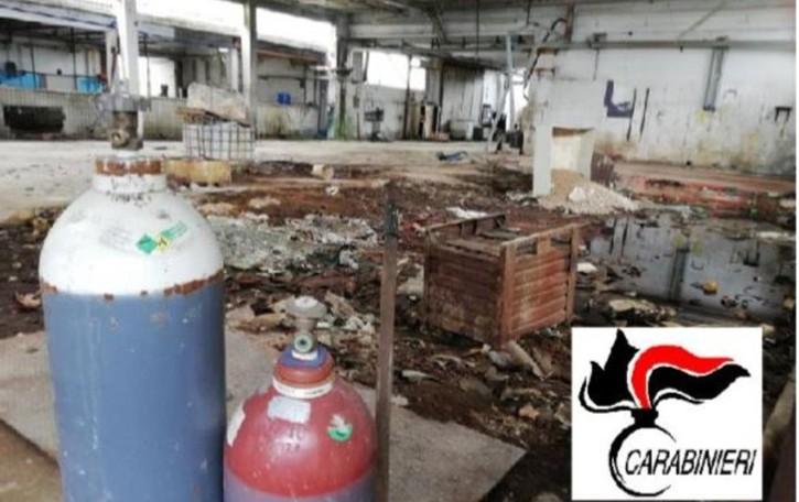 Tonnellate di rifiuti speciali abbandonati Maxi sequestro a Fornovo - Video