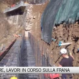 Valle di Scalve, lavori in corso sulla SP58
