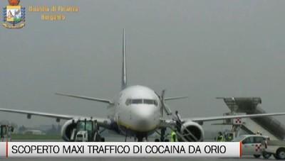 Traffico internazionale di droga da Orio: 80 kg di cocaina in due anni