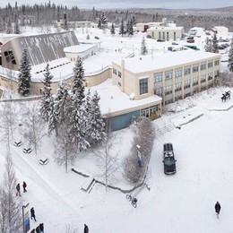 Caldo bergamasco riscalda l'Alaska Impianto orobico in un università Usa