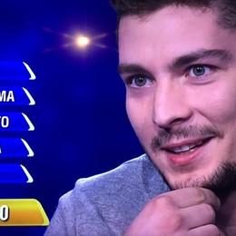 Gian Marco campione a «L'Eredità»  Da Villa d'Ogna lo studente sbaglia parola