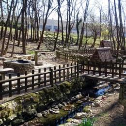 Parco «Al del Lüf» donato al Comune Terno: «Sarà per sempre dei cittadini»