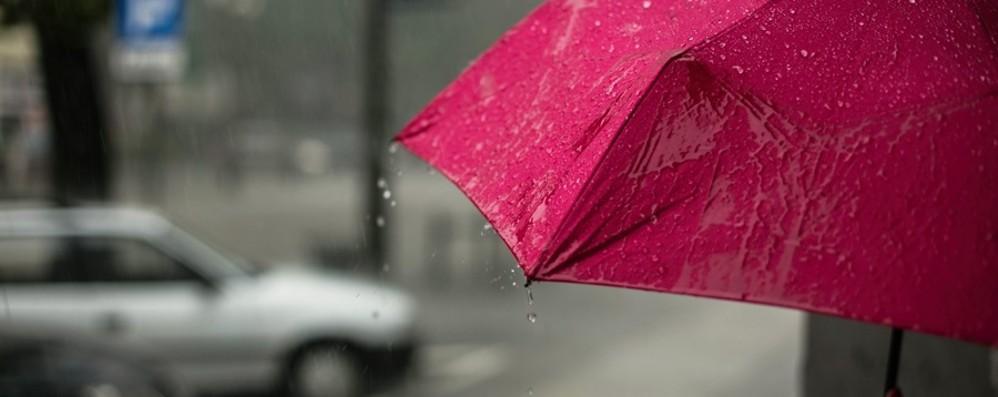 Settimana all'insegna della pioggia Da mercoledì in arrivo una perturbazione