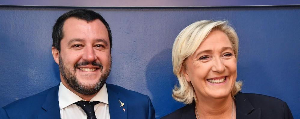 Europee, Salvini-Le Pen: 'Manifestazione insieme'