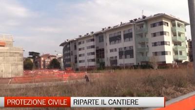 C'è la firma: diparte il cantiere della protezione civile di Bergamo