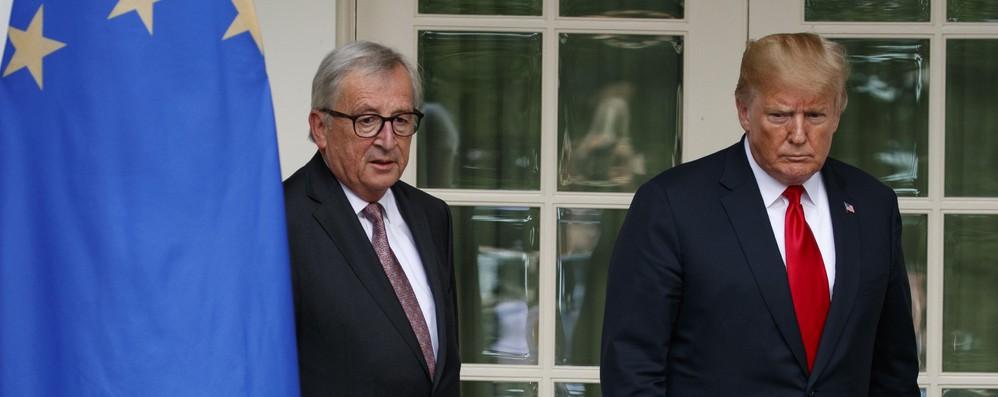 Fonti Ue, dazi Usa esagerati, stessa risposta su Boeing