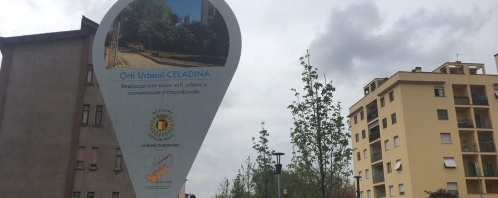 Bergamo, interventi in corso nell'area sud Installati 12 «tag-pannelli» per segnalarli