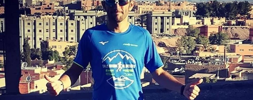 Capponi, il maratoneta bancario - Video  14° alla durissima Marathon des sables