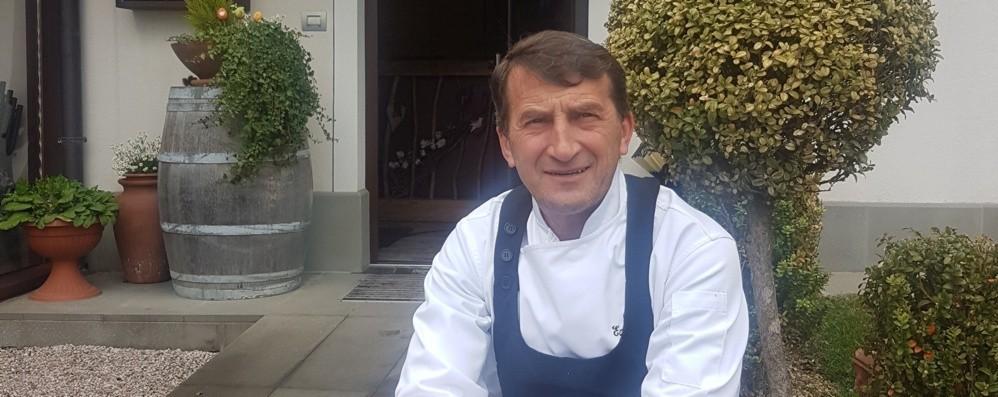 Ecco dove sta cucinando Ezio Gritti Dopo il Sentierone, ai fornelli a Pontida