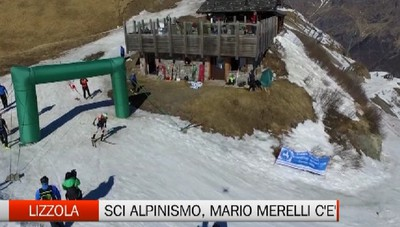 Lizzola, scialpinismo con Mario Merelli c'è