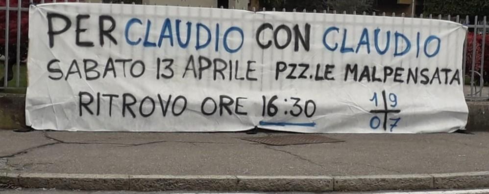Bergamo, oggi tifosi in piazza per il Bocia Stop al traffico durante il corteo - Video