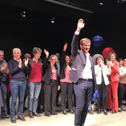 «Tenetevi stretto il vostro sindaco» Sala e Del Bono sul palco per Gori