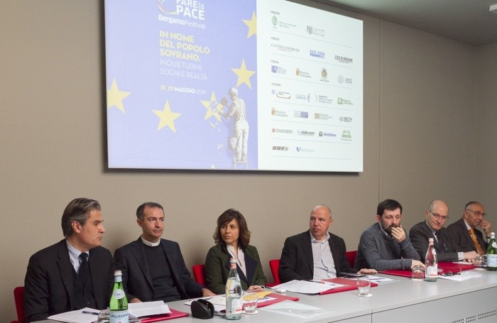 La presentazione del Festival della cultura Bergamo