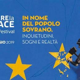 Torna il Festival «Fare la pace» Grandi autori in Piazza Vecchia