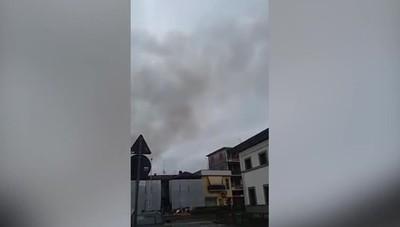 Incendio Fara Gera d'Adda Bruciano due appartamenti in centro