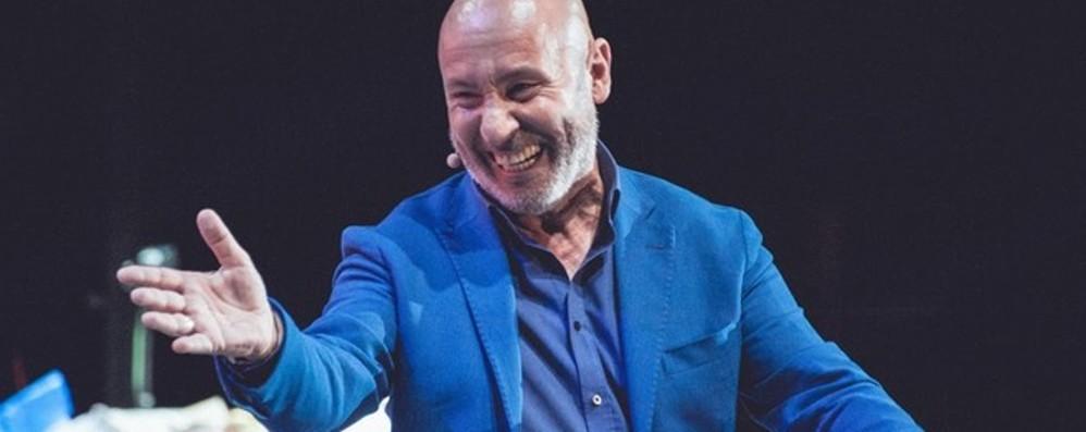Creberg, si ride con Maurizio Battista