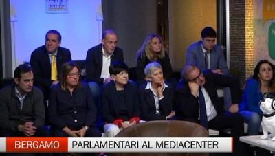 Parlamentari al Mediacenter de L'Eco di Bergamo e Bergamo Tv