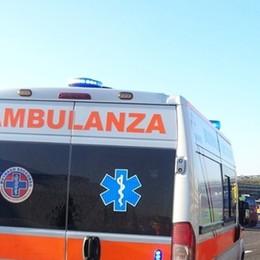 Schianto sull'A4: ferito un 66enne Trasportato d'urgenza al Papa Giovanni