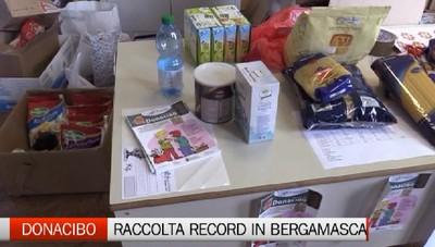 Torna nelle scuole il Donacibo. Raccolti a Bergamo 12 tonellate di alimenti per i poveri