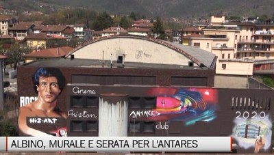 Albino, murales e serata-evento per l'addio all'Antares