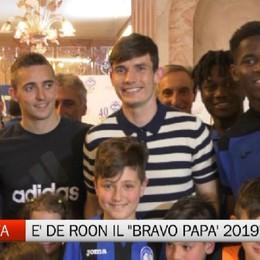 Atalanta Club Valgandino, De Roon è il Bravo Papà 2019