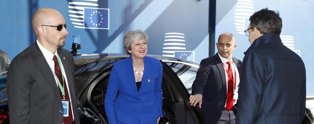 Brexit: May al vertice straordinario a Bruxelles, scopo è uscire dall'Ue il prima possibile