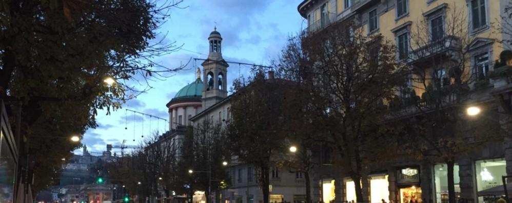 Incidente a Treviolo: bloccata la 671 Lunghe code da Bonate verso Bergamo