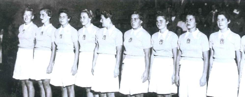 Basket, tra le campioni d'Europa del '38  La storia di Anna Maria che ha 103 anni