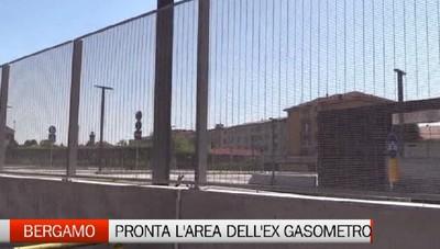 Ex Gasometro è pronto: sarà aperto entro la fine del mese