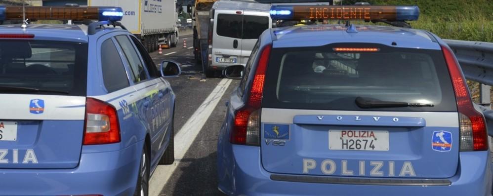 Incidente in A4, code verso Brescia Coinvolti anche due bimbi di 4 e 6 anni