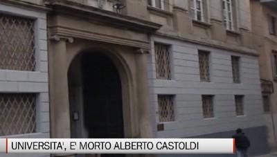 Università - E' morto Alberto Castoldi